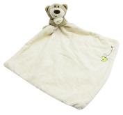 Naovio Baby Kid Soft Plush Teething Cloths Set Bear Teething Security Blanket Handbell Toy for Boys and Girls