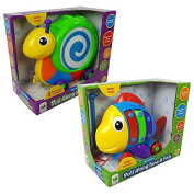The Learning Journey Pull Along Snail Drum & Tune A Fish Set