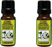Set of 2 - Concentrated Fragrance Oil - Scent - Gardenia