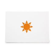 Sun Warm Summer Star Spring Style 3837, Rubber Stamp Shape great for Scrapbooking, Crafts, Card Making, Ink Stamping Crafts