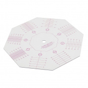 Jili Online Octagon Shape Acrylic Quilting Template Patchwork Tailor Sewing Clothing Ruler 15.8x15.8cm