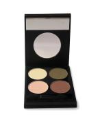 Picara Eye Candy Shadow Quad Compact, Nudes
