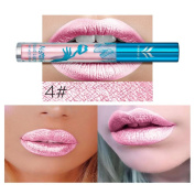 Glorrt New Holographic Lip Gloss Metallic Diamond Lasting Lipstick Shine Halo Glam