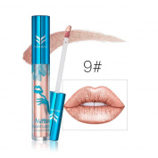New style Holographic Lip Gloss Metallic Lasting Lipstick Shine Holo Glam