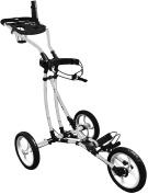 3 Wheel Freestyle Easy Fold Foldable Golf Push Cart