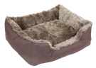 4 Paws -Ultra Luxe Rectangle Pet Bed - Chocolate - V2