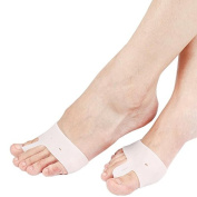 MZP Silicone before the palm pad half yards pad hallux valgus orthosis toe toe separator insoles