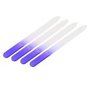 4 Pcs Durable Glass Nail Files Nail Art Acrylic Tip Buffer Buffing Manicure Tool