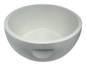 Pinks Boutique Resin Pedicure Bowl, White