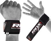RDX Neoprene Weight Lifting Gym Wrist Straps Wraps Crossfit Hand Bar Bodybuilding Training Workout