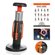 Squat Magic by New Image – Unisex Lower Body and Core Workout Exercise Machine with FREE Workout DVD