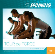 Spinning Unisex Volume Tour De Force Exercise Music Cd, Blue, Size 18