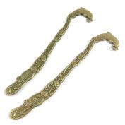 5 PCS Jewellery Making Charms Ancient Antique Bronze Fashion Jewellery Making Crafting Charms Findings Bulk for Bracelet Necklace Pendant A01232 Dolphin Bookmark Book Mark