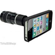 tradeshoptraesio® – Objective Lens Magnification Telescope Camera Cover for iPhone 4