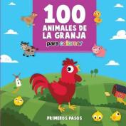 100 Animales de la Granja Para Colorear [Spanish]