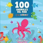 100 Animales del Mar Para Colorear [Spanish]