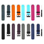 Baaletc Silicone Replacement Smart Wrist Watch Accessory Band Strap for Garmin Vivoactive, One Size