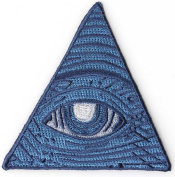 Illuminati Dollar Bill Eye Masons Watching Patch (7.6cm X 7.6cm ) $4.95 with FREE FREIGHT from San Diego Leather