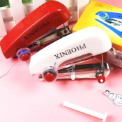Portable Hand-Held Sewing Machine Mini Clothes Fabric Portable Pocket