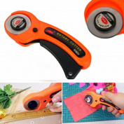 YRD TECH 45mm Sharp Round Rotary Cutter Sewing Quilting Roller Fabric Cutting Craft Tool