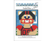 Counted Quilts Football Bear Quilt Ptrn