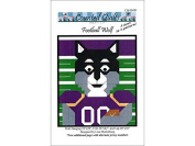 Counted Quilts Football Wolf Quilt Ptrn