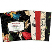 Wilmington Prints Angel Song Five Crystals 24 Five Inch Squares