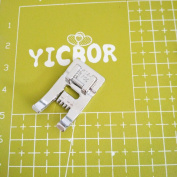 YICBOR 9 Groove PinTuck Snap on Foot 4123700-45 fits HUSQVARNA VIKING Sewing Machine