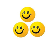 sea-junop Cute Early Education Puzzle Toys Happy Ball Stretch Smile Ball PU material Gift