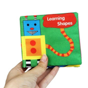 Vibola Soft Cloth Baby Intelligence Development Learn Picture Cognize Book