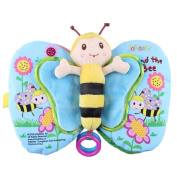 Vibola Butterfly Cloth Book Baby Toy Cloth Handmade Development Books Education Books
