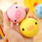 Lanlan Hand Pols Oefening Stress Speelgoed ball Plezier Squeeze ball Moderne Stressbal Relax Dier Varken ball Speelgoed voor kinderen Animal Print