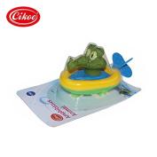Lanlan Plastic Pull String Duck Crocodile Pelican Animal Boat Swimming Bathtime Fun Bathtub Toys for Boys Girls Kids Crocodile