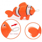 Putars Cute Baby Kids Bathing Toys Wash Play Cartoon Pull Educational Toys