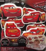 Cars 3 Disney Pixar Tub Time Activity Bath Set (8) Foam Lightning McQueen Toys
