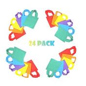 24 Bright tote bags -- small