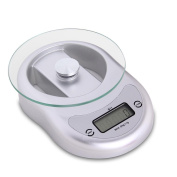Chinese medicine called grammes of small scales called grammes of mini household ideas that electronic scales kitchen baking weighing scales 5kg , silver