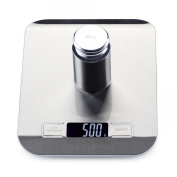 Precision electronic weighing 10kg household stainless steel kitchen scale baking cake scale food small grammes scale food weighing , #1