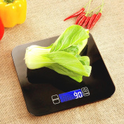 The new waterproof 10 kg kitchen scale precision baking scale food weighing scales weighing weighing electronic , black