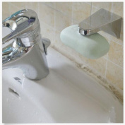 IGEMY Easy Magnetic Soap Holder Adhesion Wall Soap Dish Sink Bathroom Kitchen Silver