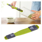 Double End Eight Stalls Adjustable Scale Measuring Spoons