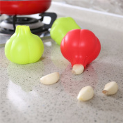 BrilliantDay 3pcs Silicone Garlic Peeler Garlic Peeling Easy Useful Kitchen Tools Colour Random