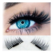 Magnetic Eyelashes, Hunzed Ultra-thin 0.2mm Eye Lashes Reusable Natural Long False Magnet Eyelashes Makeup Hand Made Eyelashes