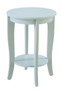 Convenience Concepts 7106259SF American Heritage Accent End Table, Sea Foam