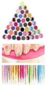 XICHEN 45 Pcs/Colours nail art glitter powder dust tips decoration Sets & Kits