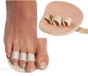 Triple Toe, HammerToe Straightener (Budin Toe Splint), LEFT Foot by Atlas Biomechanics