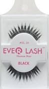 (6 pack) Everlash EL28-Human Hair Quality Eyelash