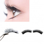 Odeer 2017 NEW Ultra-thin 0.2mm Magnetic Eye Lashes 3D Reusable False Magnet Eyelashes Extension Black