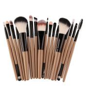 Make Up Brush Set, CieKen 18PCS Professional Cosmetic Makeup Brush Make-up Toiletry Kit Eye Shadow Brushes Wool Make Up Brush Set