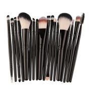 CieKen 18PCS Professional Cosmetic Makeup Brush Make-up Toiletry Kit Eye Shadow Brushes Wool Make Up Brush Set